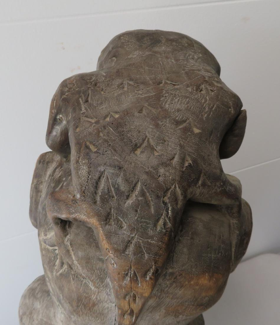 Early Indonesian Carving - 9