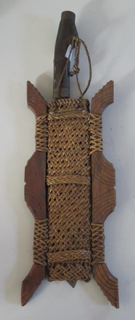Effigy Beaded Indonesian Knife - 8