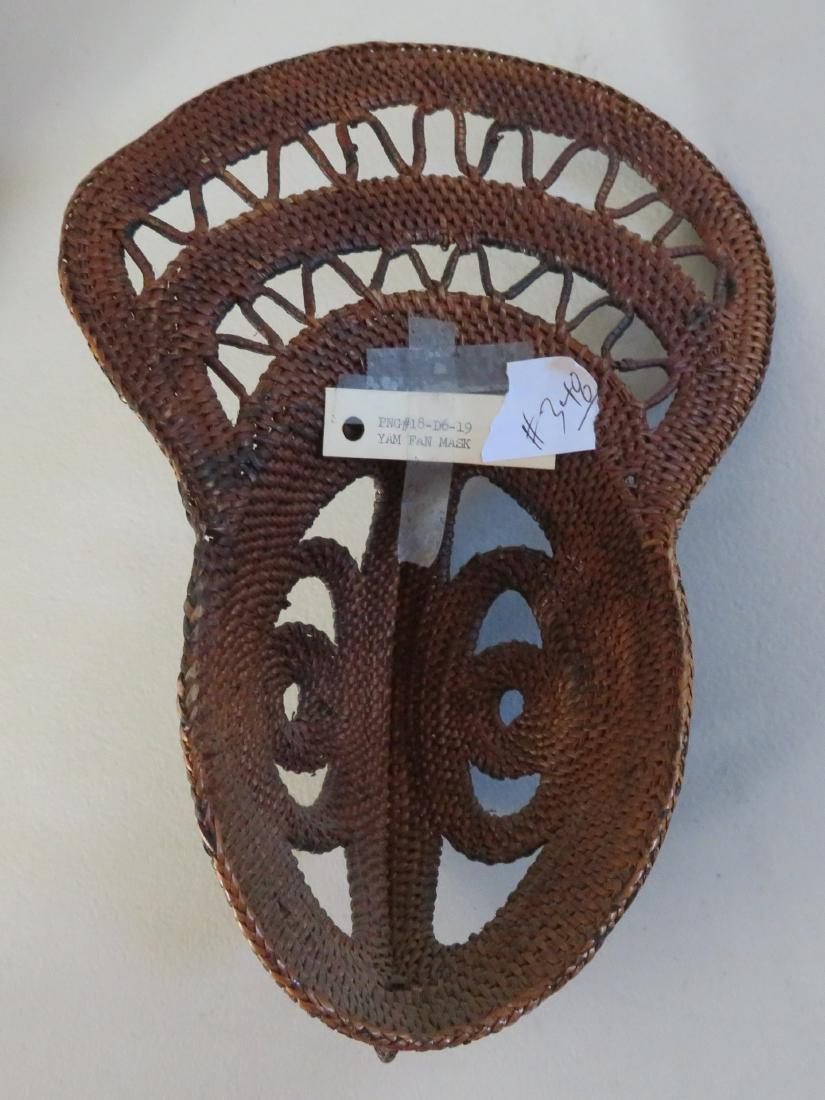 PNG Yam Fan Mask - 8
