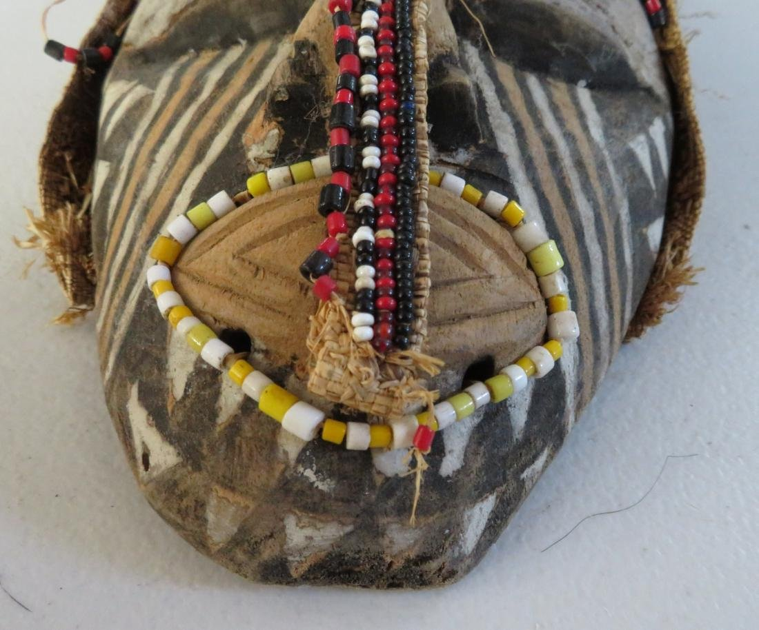 African Wood Mask - 3