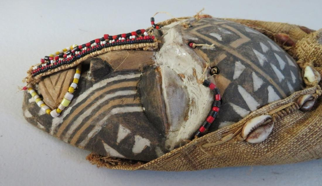African Wood Mask - 8