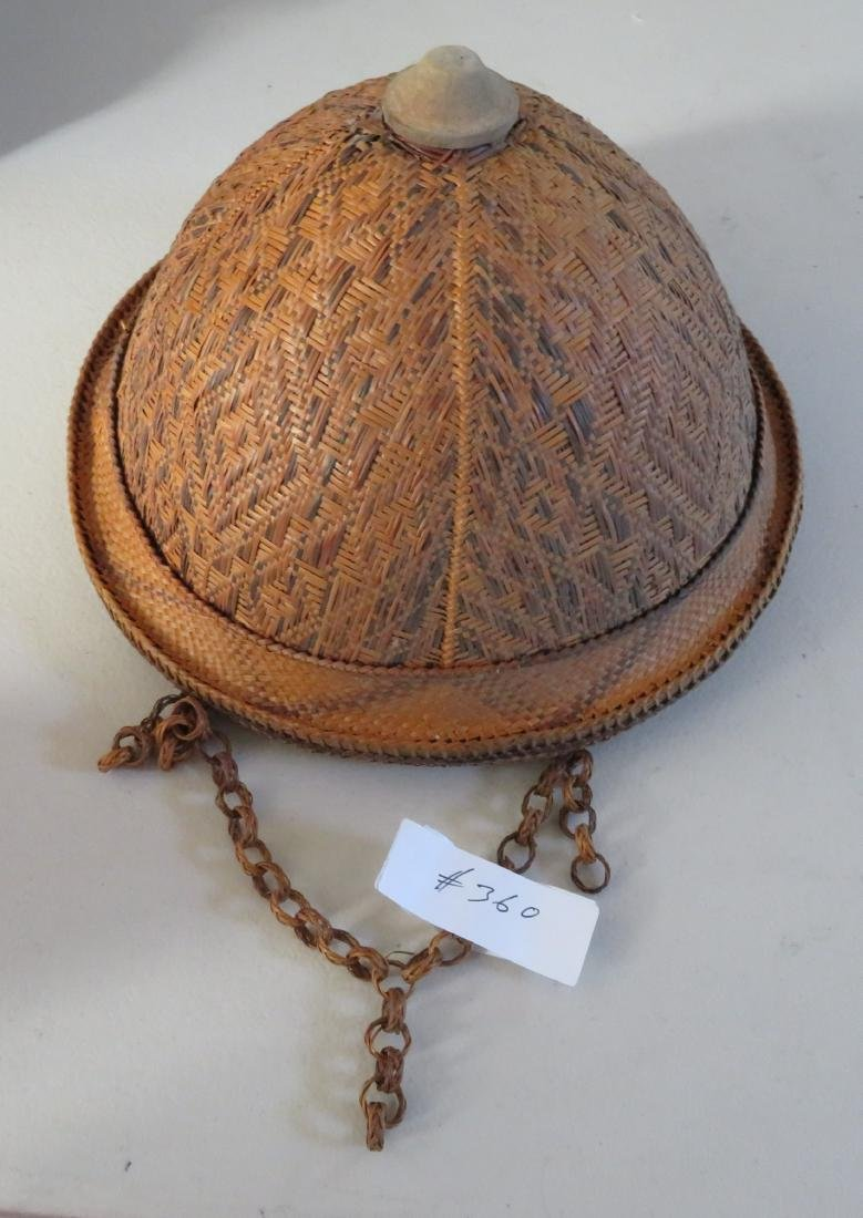 Indonesian Basketry Hat