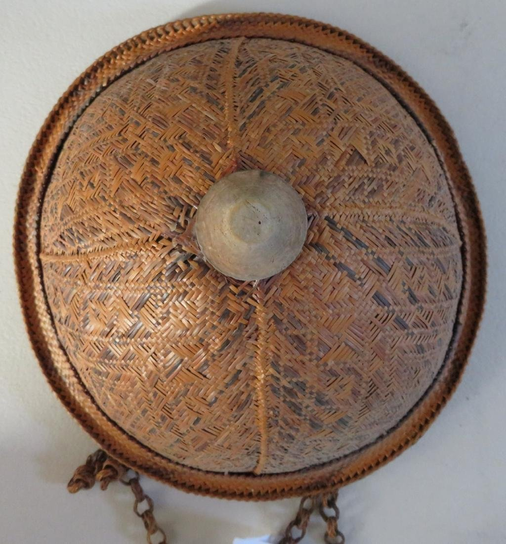 Indonesian Basketry Hat - 2