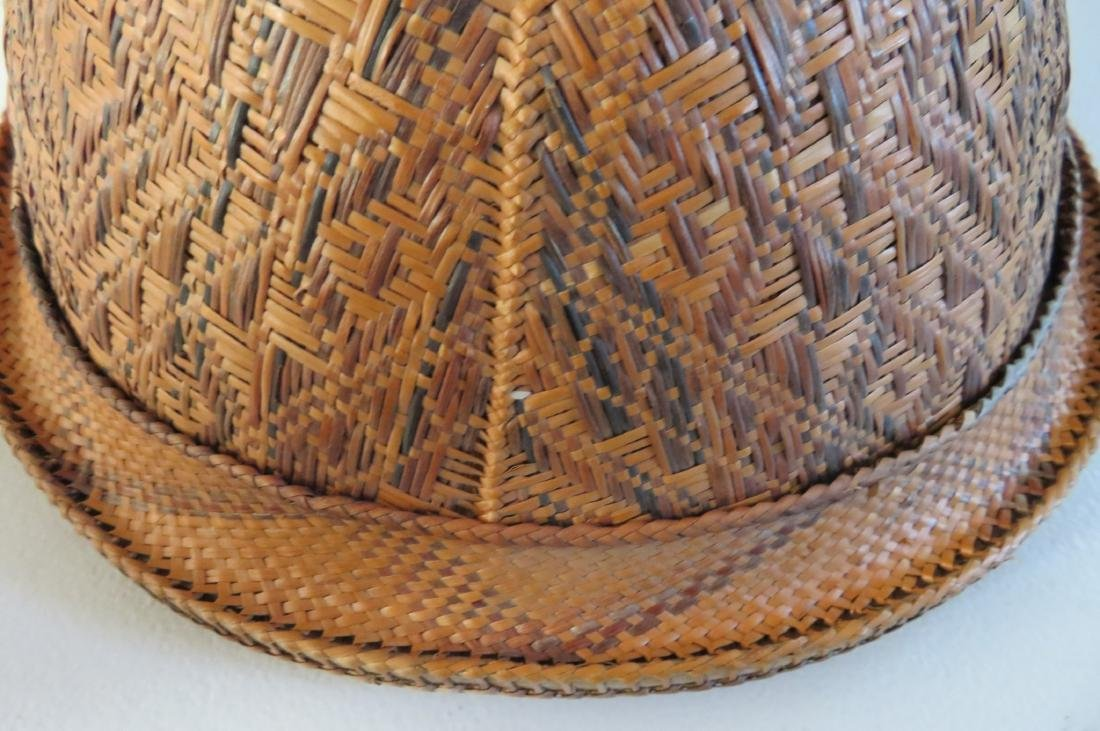 Indonesian Basketry Hat - 7