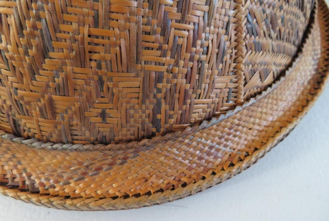 Indonesian Basketry Hat - 8