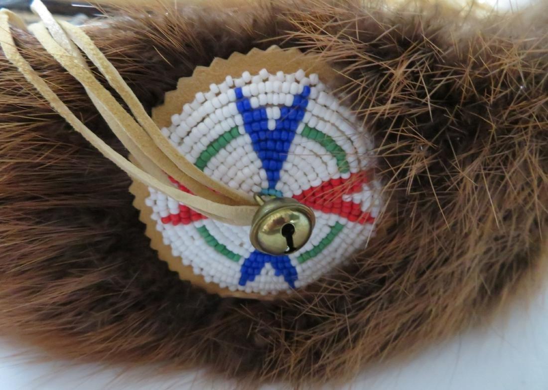 Plains Indian Drum w/Beater - 3