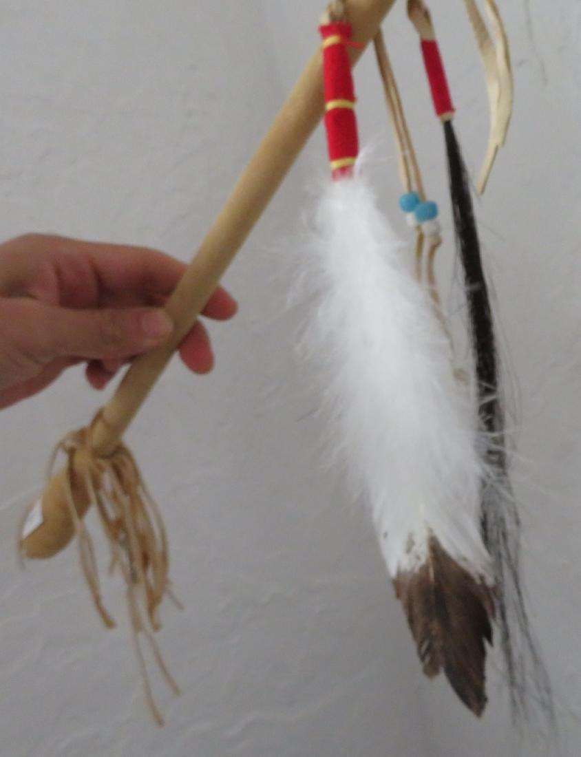 Plains Indian Drum w/Beater - 6