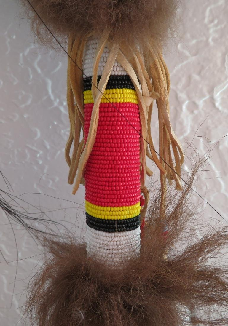 Plains Indian Dance Wand - 4