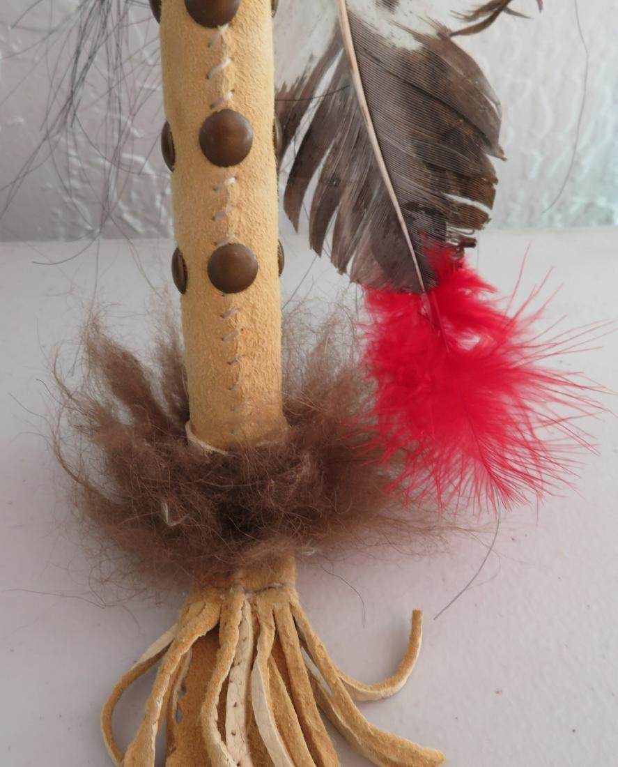 Plains Indian Dance Wand - 7