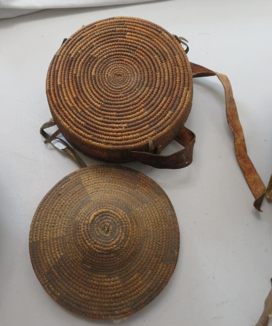 3 Antique African Containers - 4