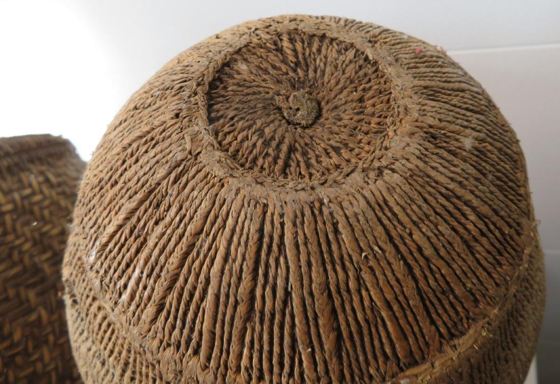 Wicker Burden Basket - 10