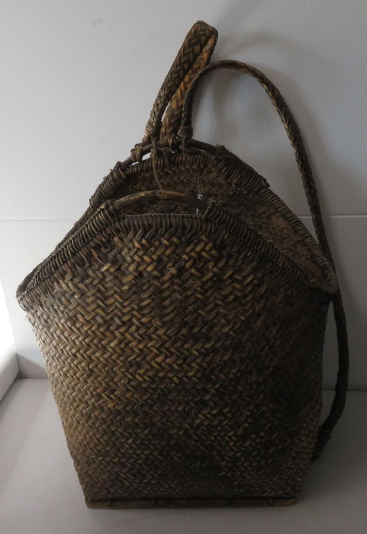 Wicker Burden Basket