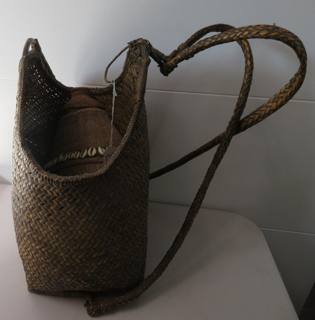 Wicker Burden Basket - 2