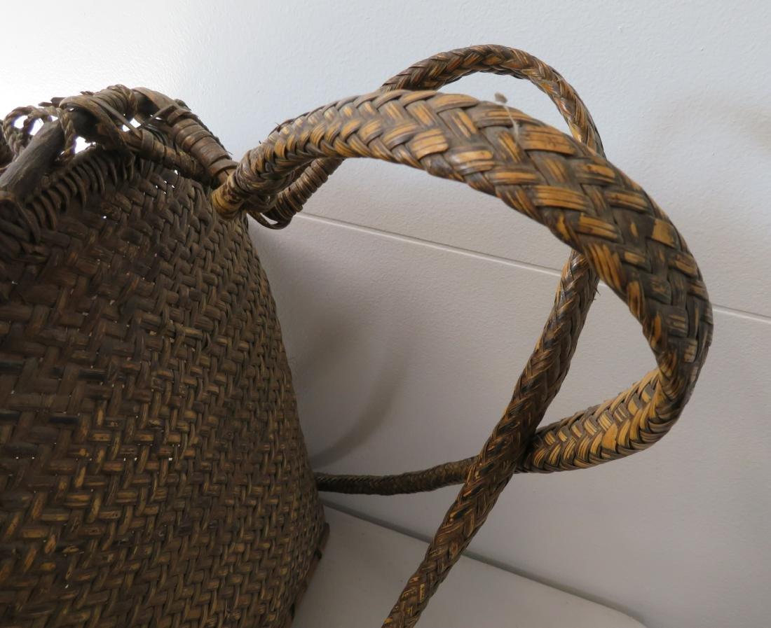 Wicker Burden Basket - 3