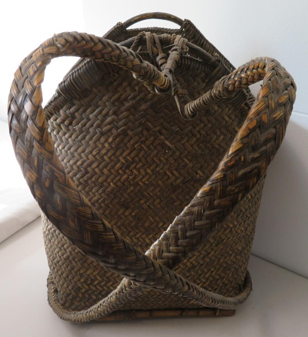 Wicker Burden Basket - 5