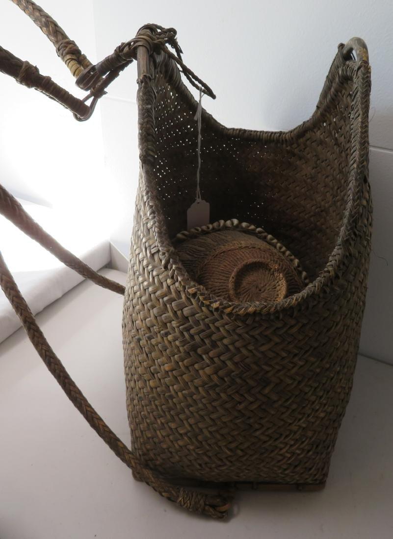 Wicker Burden Basket - 6