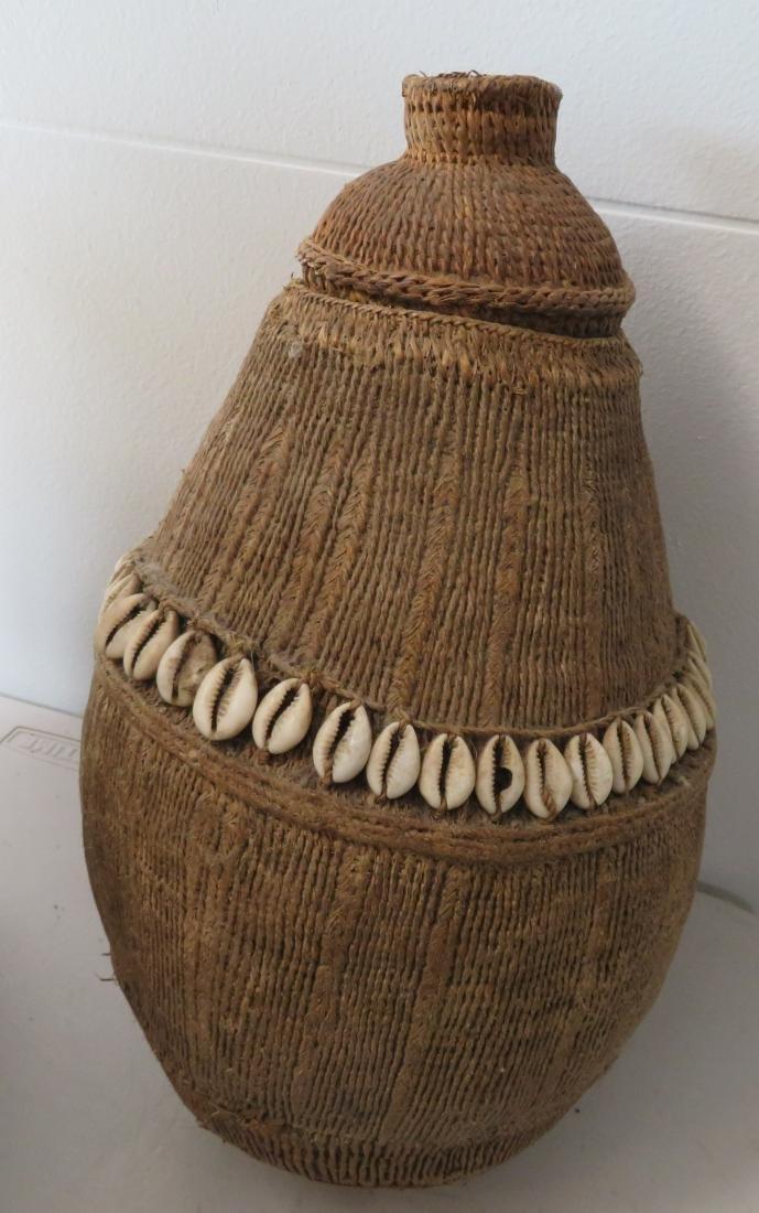 Wicker Burden Basket - 8