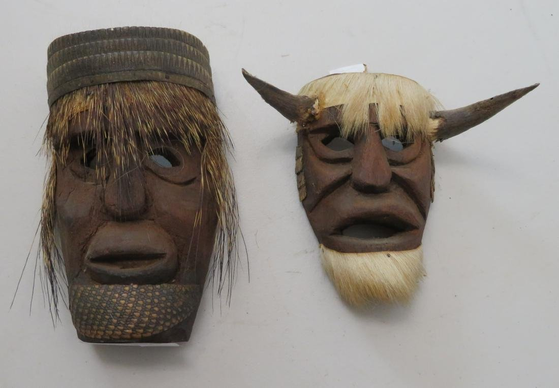 2 Mexican Masks