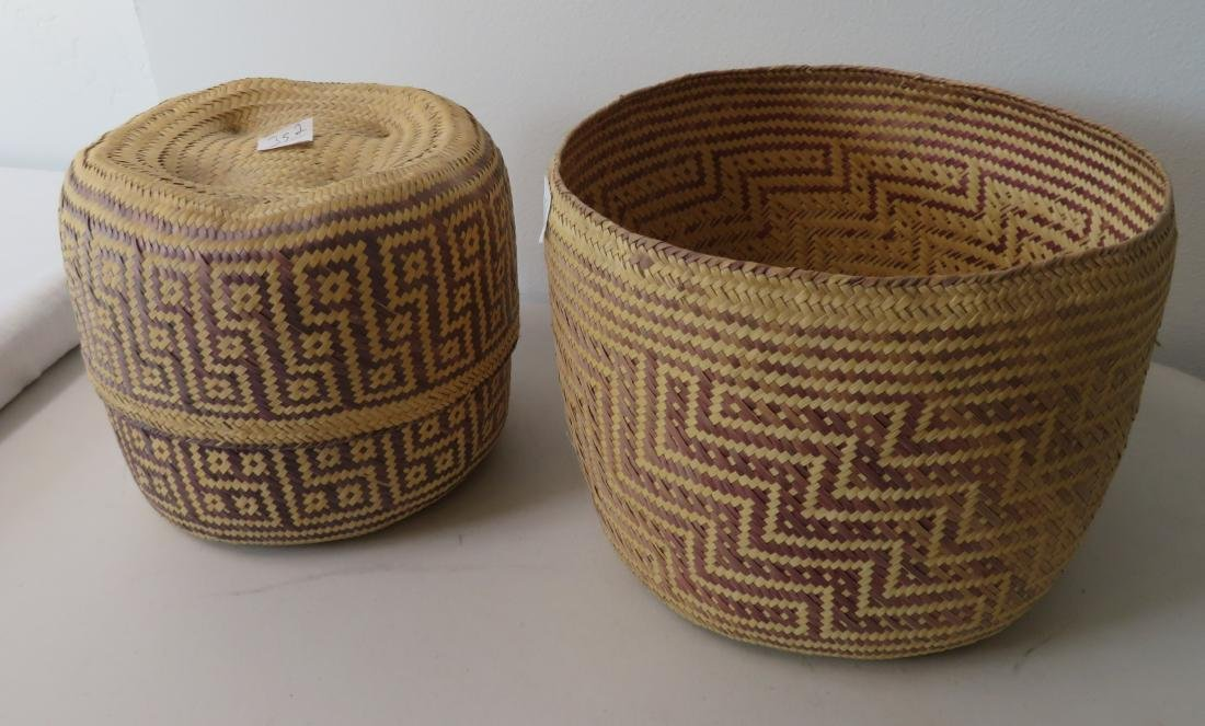 2 Mexican Baskets - 8