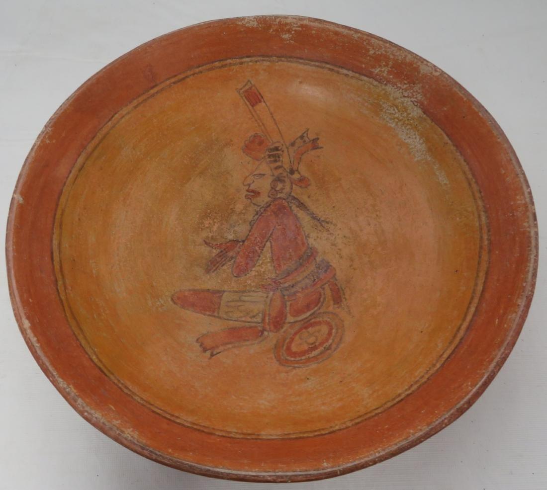 Fine Mayan Bowl - 2