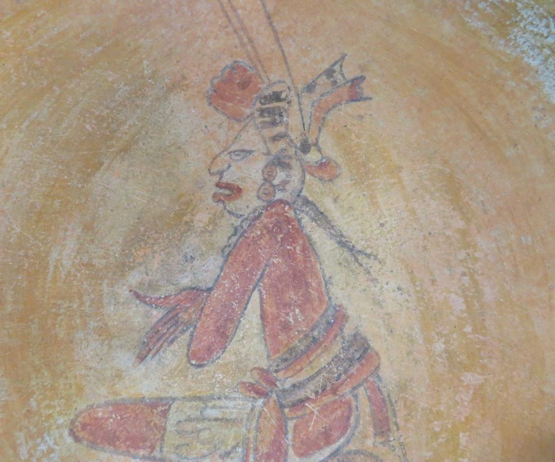 Fine Mayan Bowl - 4