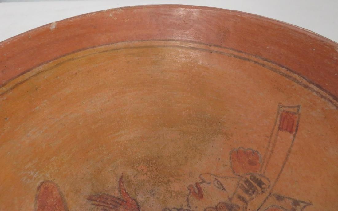 Fine Mayan Bowl - 8