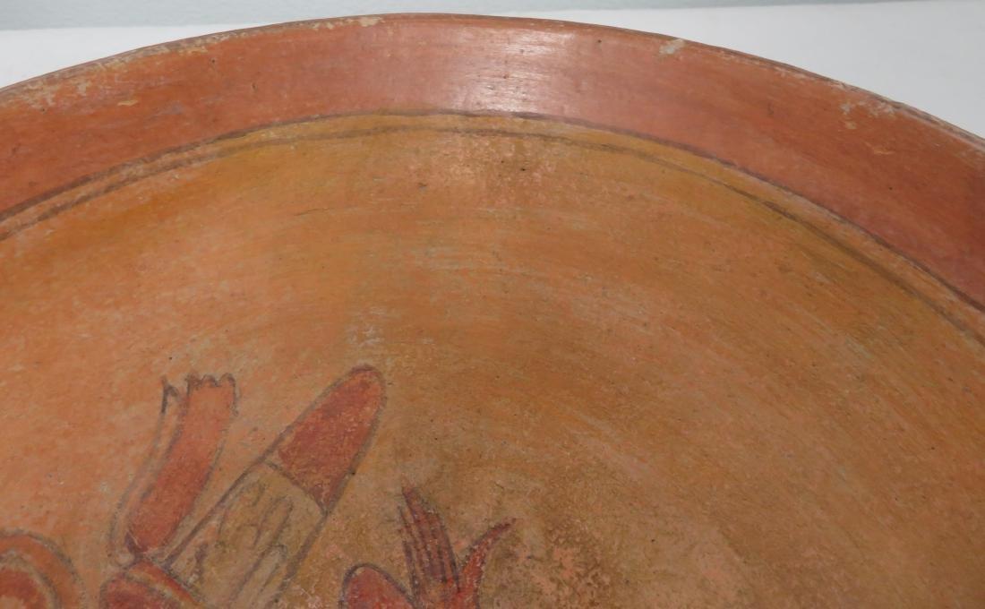 Fine Mayan Bowl - 9