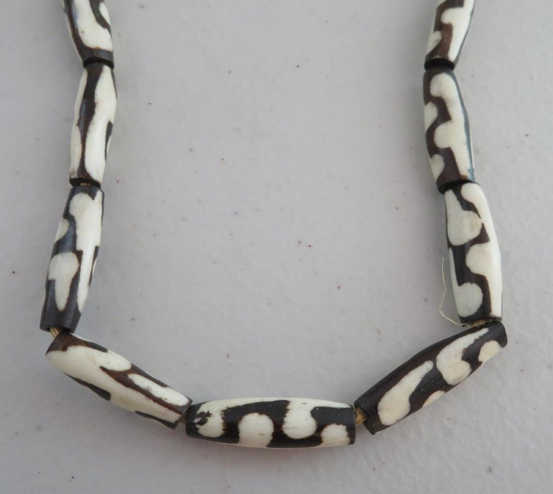 African Trade Bead Necklace - 2