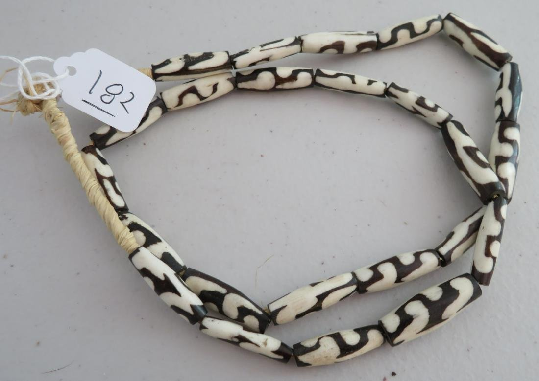 African Trade Bead Necklace - 6