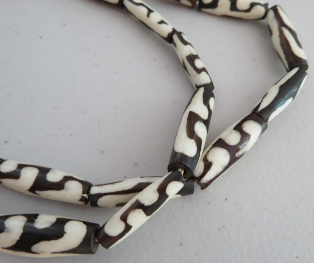 African Trade Bead Necklace - 7