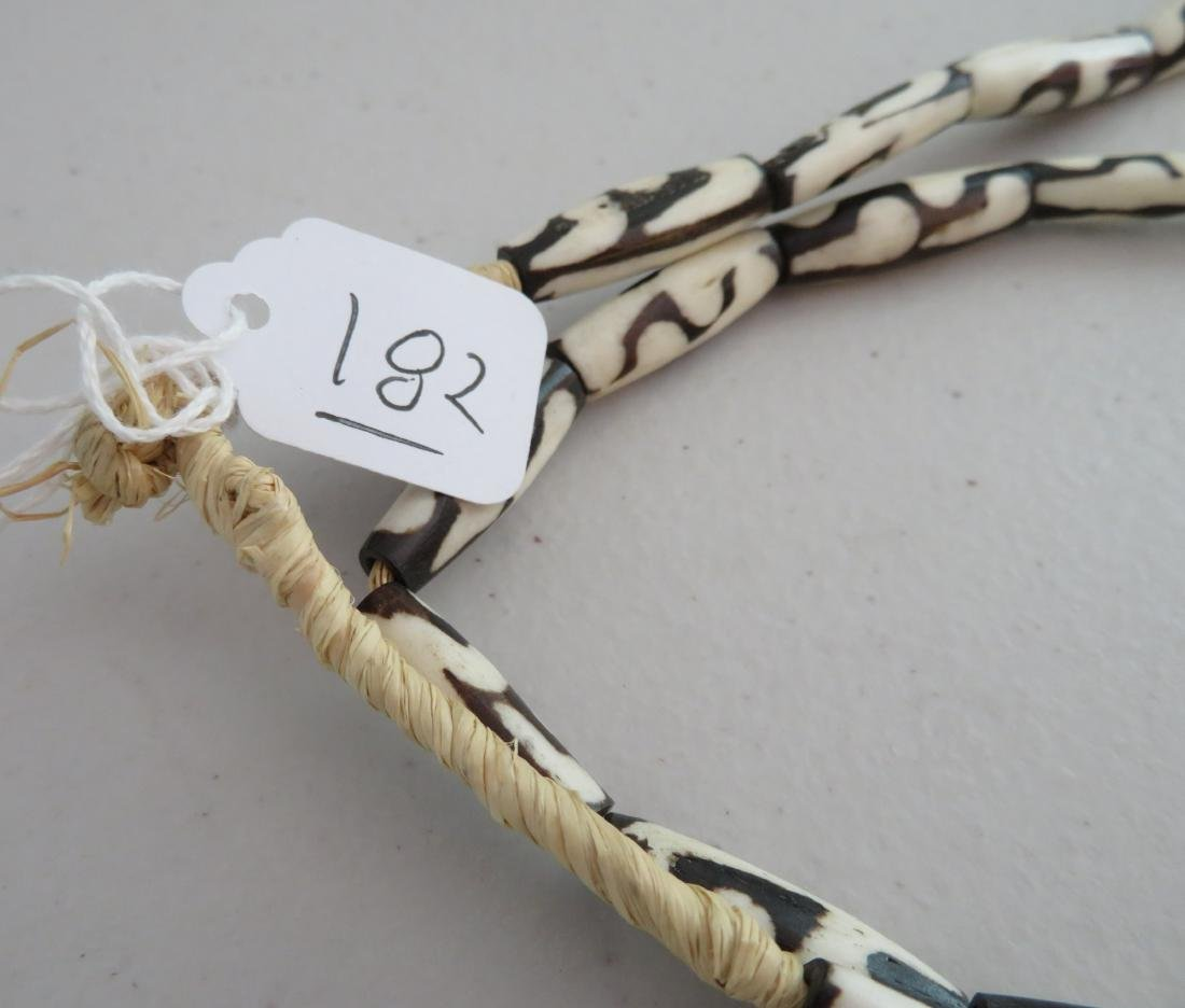 African Trade Bead Necklace - 8