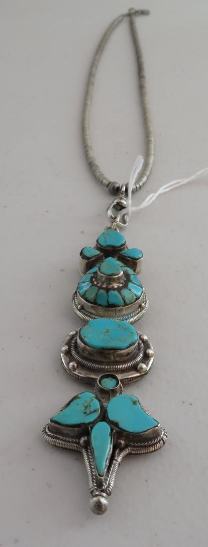 Sterling Silver & Turquoise Necklace