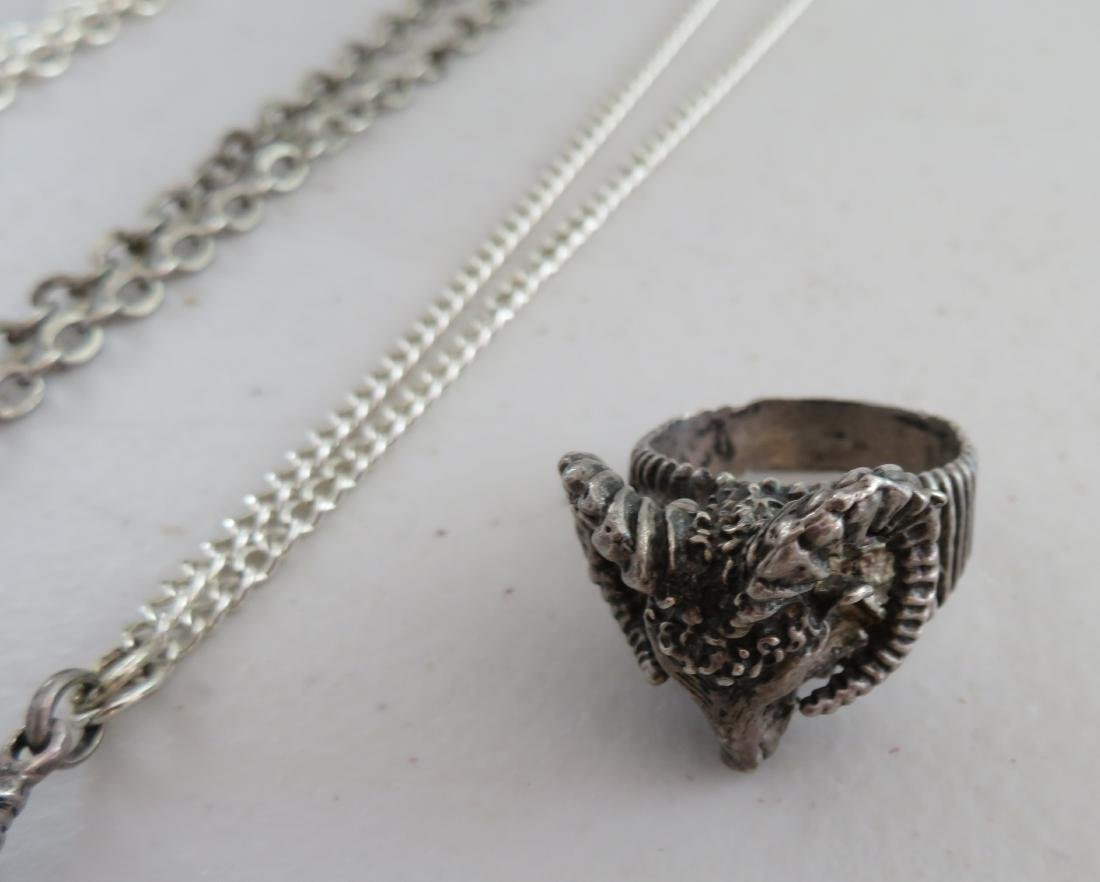 Misc Lot of Sterling Silver Jewelry - 6