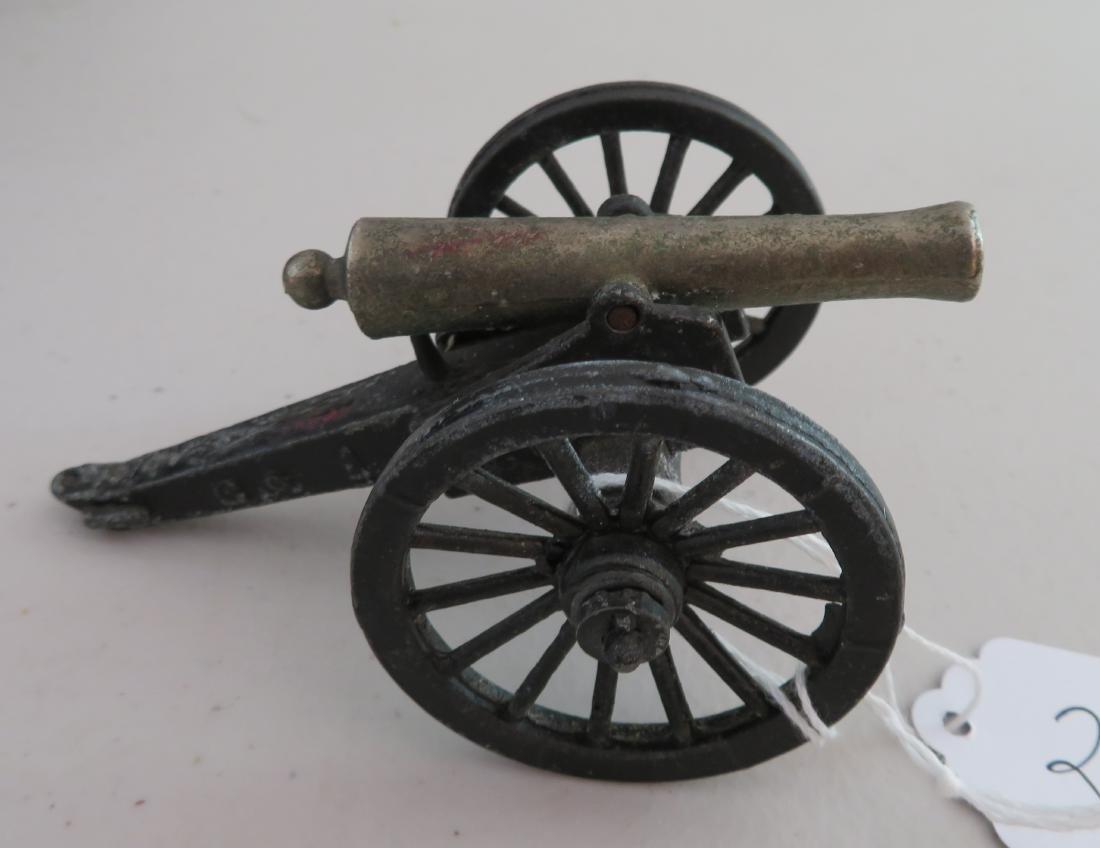 Miniature Civil War Replica Cannon