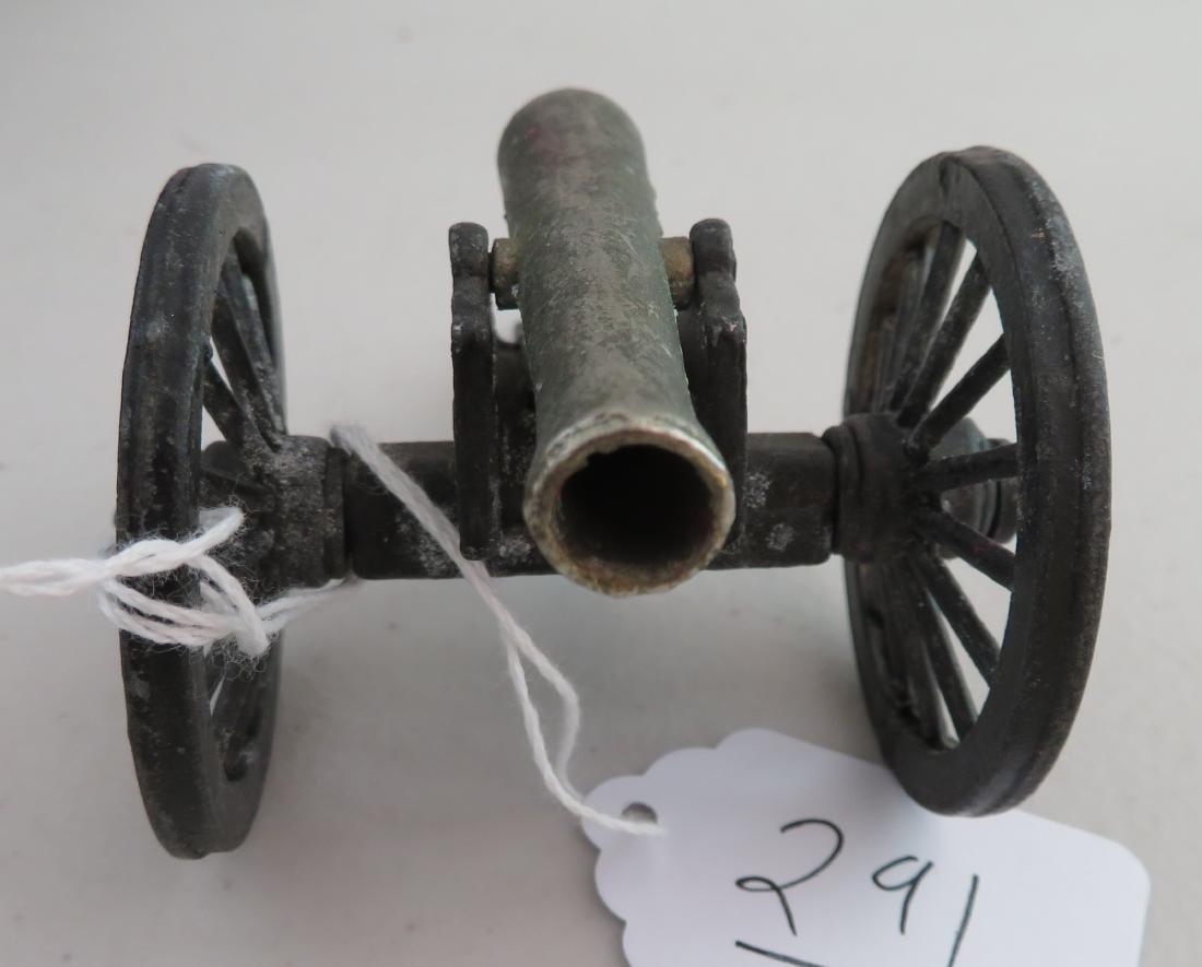 Miniature Civil War Replica Cannon - 2