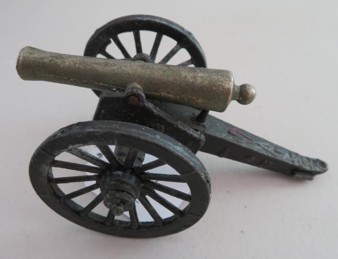 Miniature Civil War Replica Cannon - 4