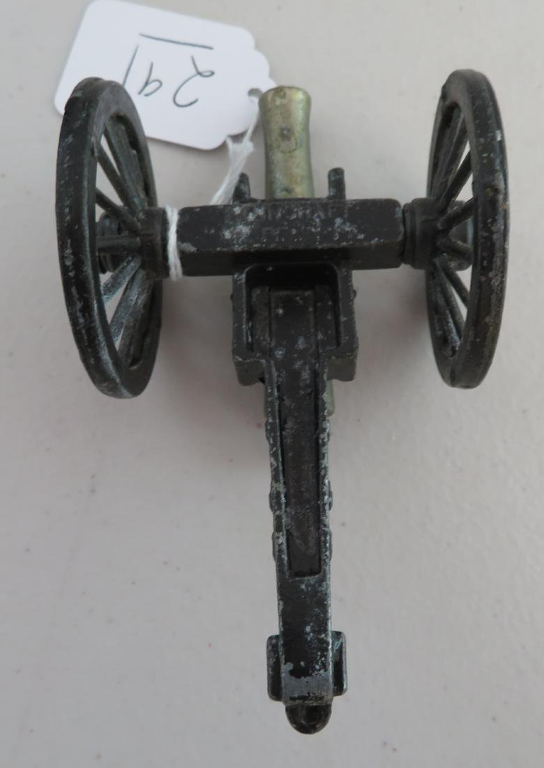 Miniature Civil War Replica Cannon - 8