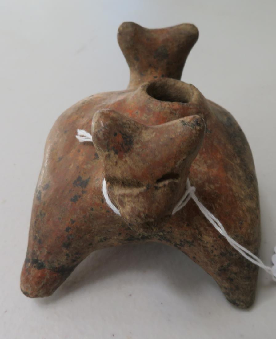 2 Headed Dog Pot - 4