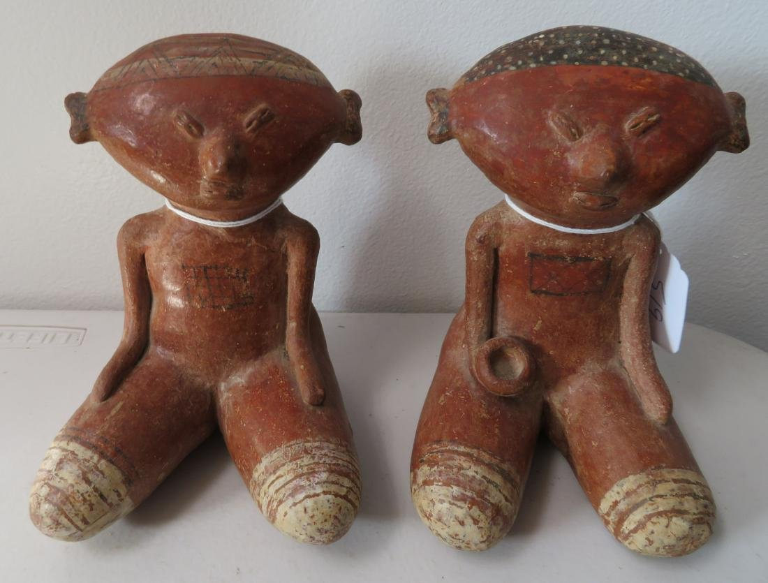Pair of Chinesco Figures