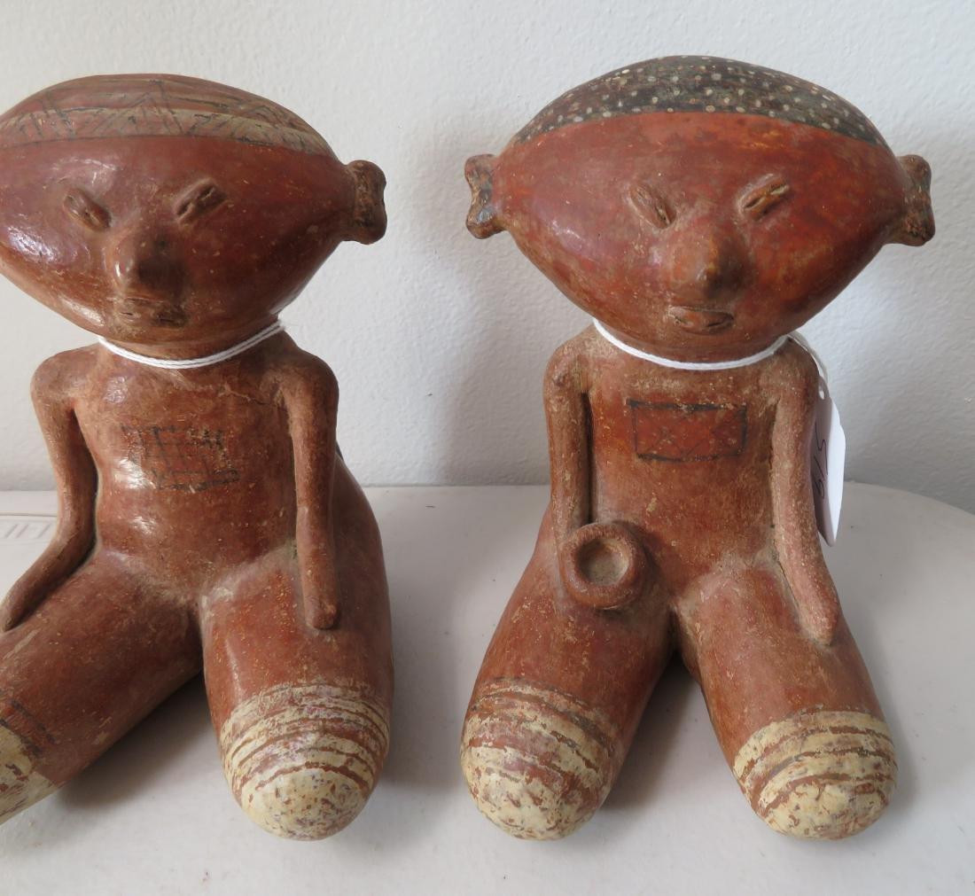 Pair of Chinesco Figures - 2