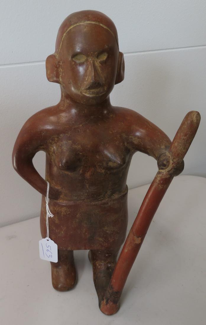Large Female Figure w/Staff