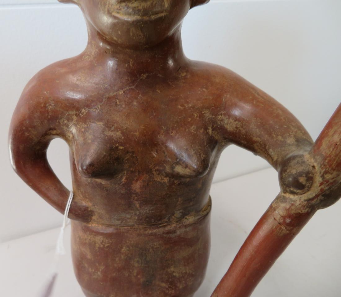 Large Female Figure w/Staff - 3