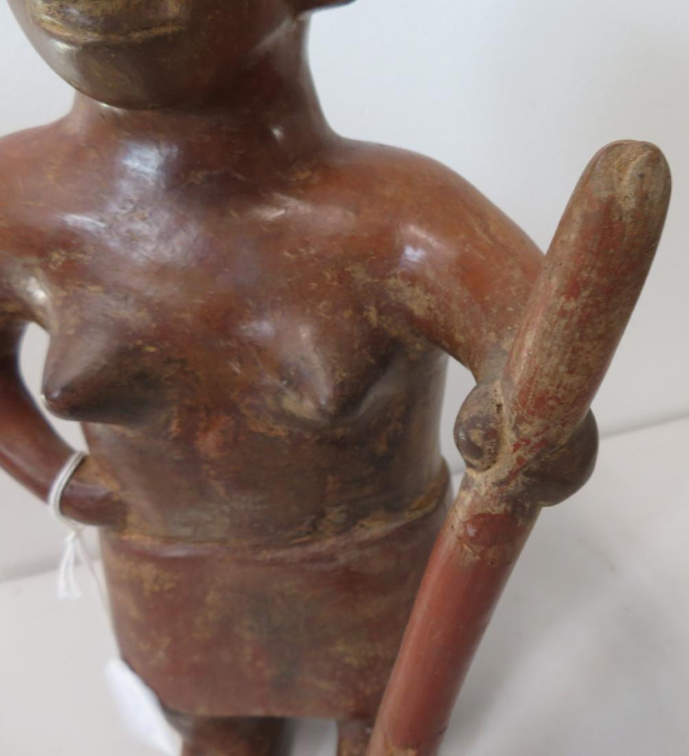 Large Female Figure w/Staff - 4