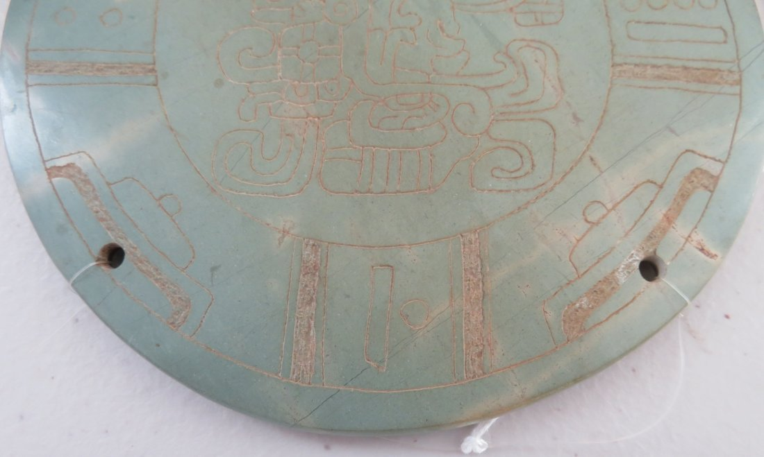 7 Mayan-style Engraved Plaques - 2