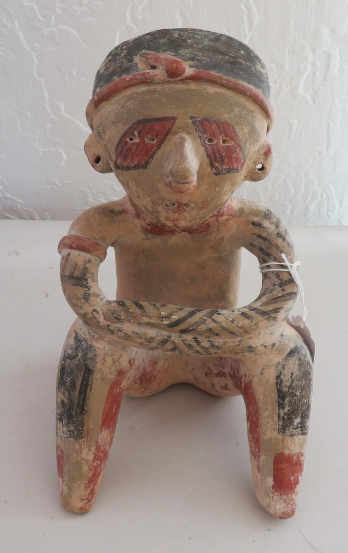 Seated Human Figure