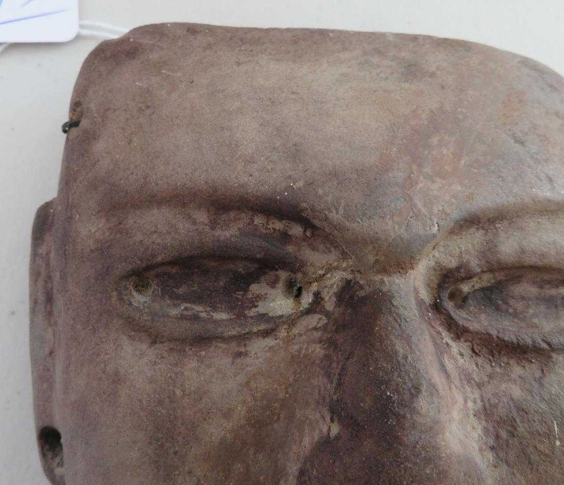 Pre-Columbian Stone Mask - 2