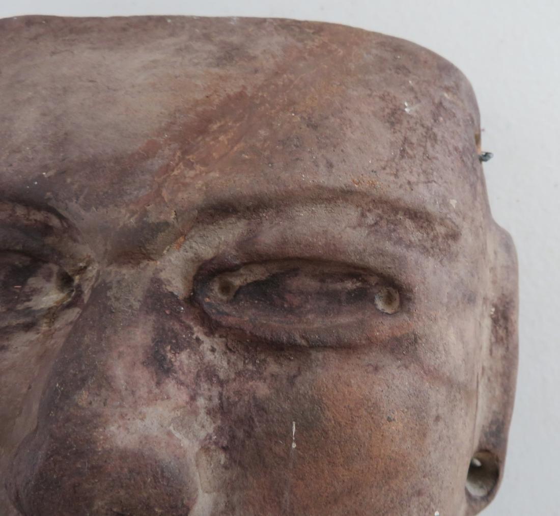 Pre-Columbian Stone Mask - 3
