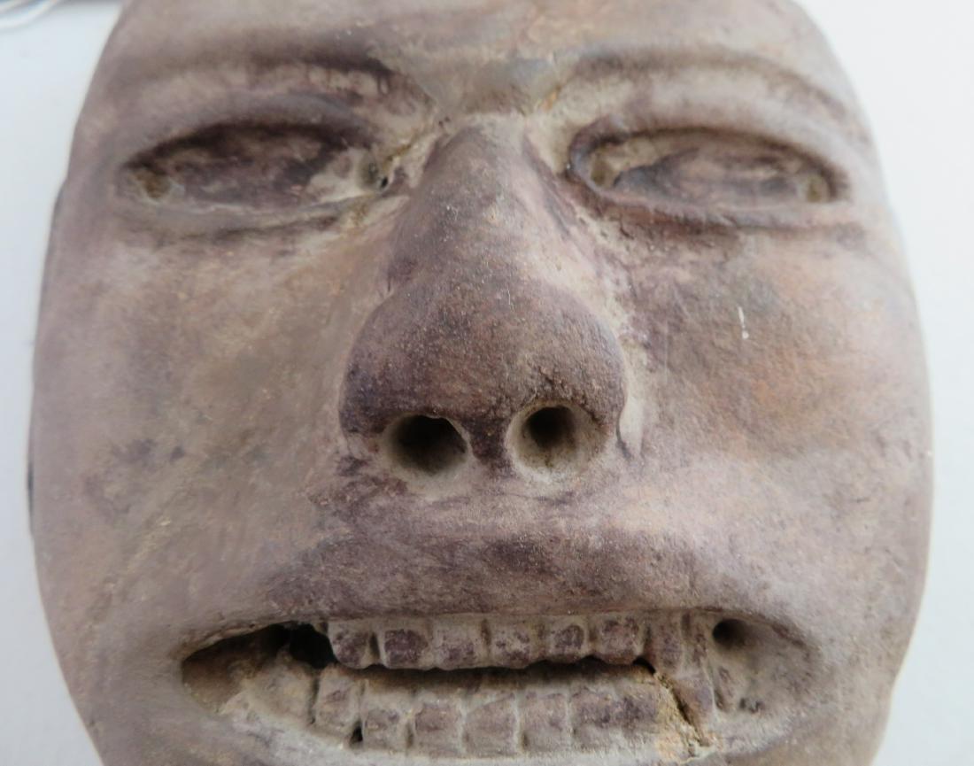 Pre-Columbian Stone Mask - 4