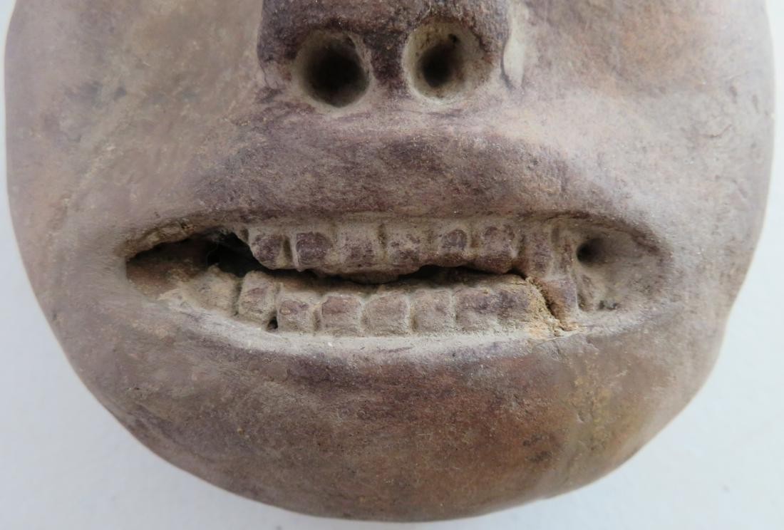 Pre-Columbian Stone Mask - 5