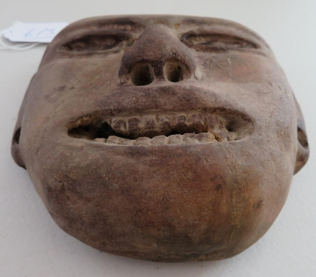Pre-Columbian Stone Mask - 6